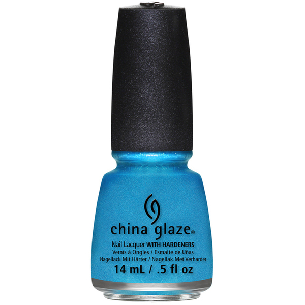 China Glaze Lacquer - SO BLUE WITHOUT YOU 0.5 oz. - #1258 (CG1258)