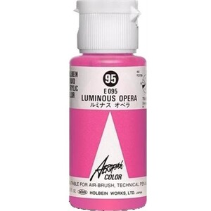 Aeroflash Liquid Acrylic Airbrush Nail Color - LUMINOUS OPERA #95 1.18 oz. (4900669060956)