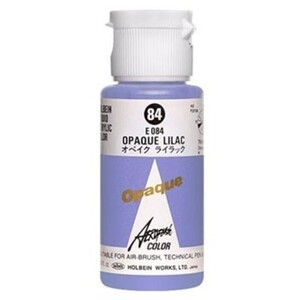 Aeroflash Liquid Acrylic Airbrush Nail Color - COPAQUE LILAC #84 1.18 oz. (4900669060840)