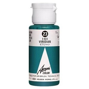 Aeroflash Liquid Acrylic Airbrush Nail Color - VIRIDIAN #23 1.18 oz. (4900669060239)
