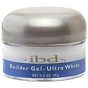 IBD Builder Gel Ultra White 0.5 oz. (6040032)