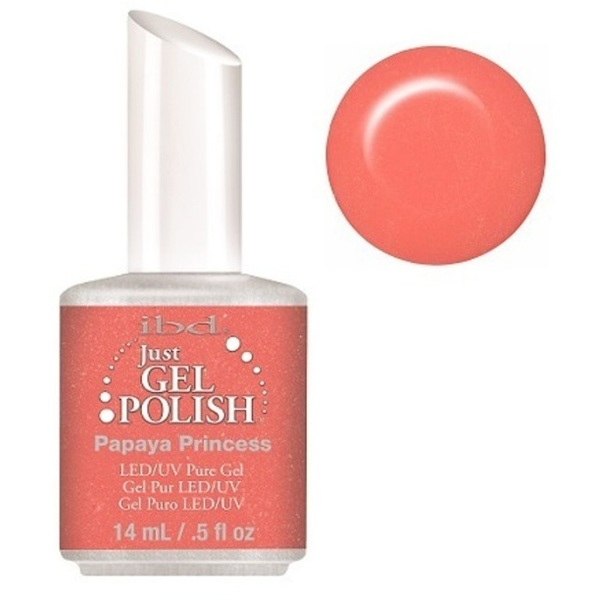 IBD Just Gel Polish - Papaya Princess 0.5 oz. - #56672 (56672)
