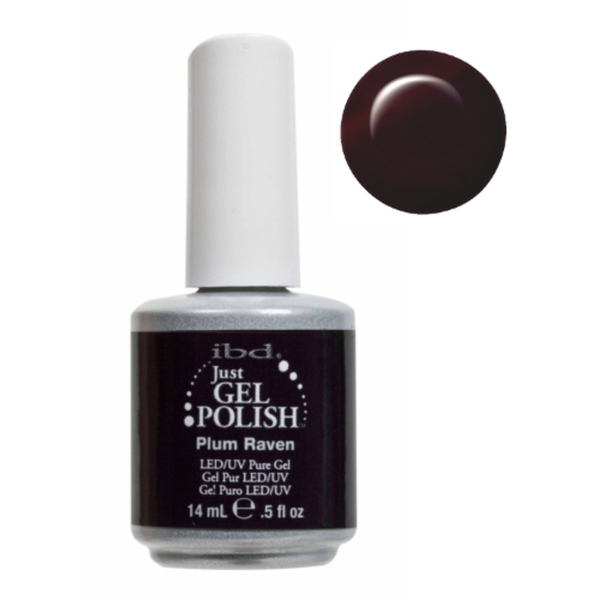 IBD Just Gel Polish - Plum Raven 0.5 oz. - #56506 (56506)