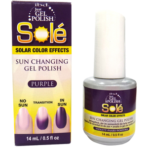 IBD Just Gel Polish - Sole Solar Effects- Purple 0.5 oz. - #56829 (0039013568290)