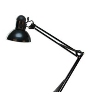 Swing Arm Desk Lamp - Black (917461303825BL)