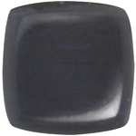 Dare To Wear Nail Lacquer - Powerful Black 0.5 oz. (DW27)