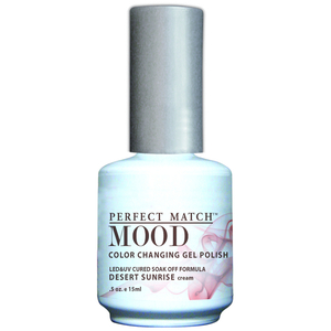 Mood Color Changing Soak Off Gel Polish - Desert Sunrise (MPMG23)