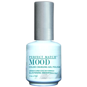 Mood Color Changing Soak Off Gel Polish - Glistening Waterfall (MPMG14)