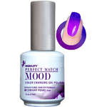 Mood Color Changing Soak Off Gel Polish - Midnight Pearl (MPMG07)