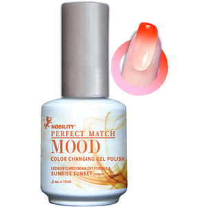 Mood Color Changing Soak Off Gel Polish - Sunrise Sunset (MPMG03)