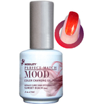 Mood Color Changing Soak Off Gel Polish - Sunset Beach (MPMG08)