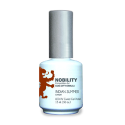 Nobility Color LEDUV Cured Gel Polish - Indian Summer 0.5 oz (NBGP93)