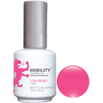 Nobility Color LEDUV Cured Gel Polish - Strawberry 0.5 oz (NBGP75)