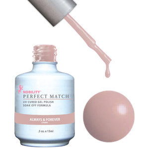 PERFECT MATCH - Soak Off Gel Polish + Lacquer - ALWAYS & FOREVER (PMS72)