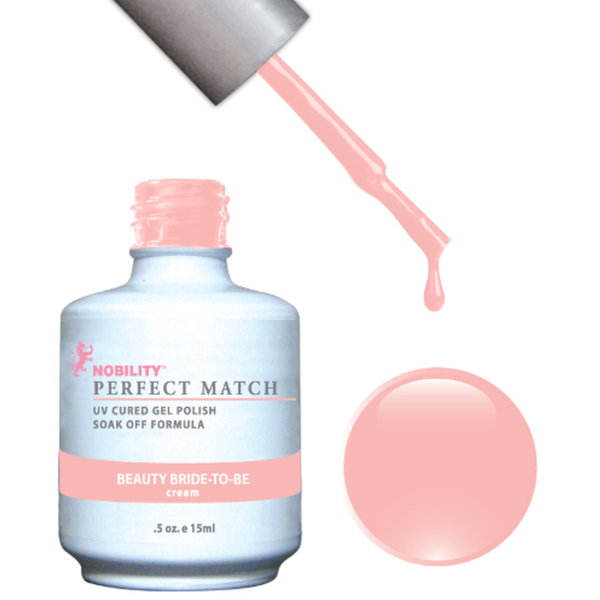 PERFECT MATCH - Soak Off Gel Polish + Lacquer - BEAUTY BRIDE-TO-BE (PMS50)