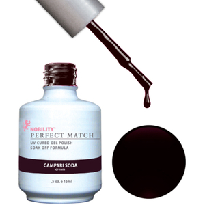 PERFECT MATCH - Soak Off Gel Polish + Lacquer - CAMPARI SODA (PMS29)