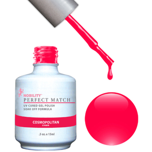 PERFECT MATCH - Soak Off Gel Polish + Lacquer - COSMOPOLITAN (PMS24)