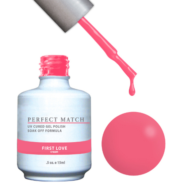 PERFECT MATCH - Soak Off Gel Polish + Lacquer - FIRST LOVE (PMS95)