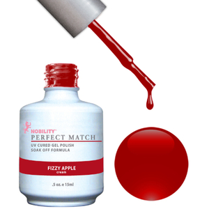 PERFECT MATCH - Soak Off Gel Polish + Lacquer - FIZZY APPLE (PMS23)
