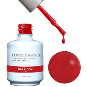 PERFECT MATCH - Soak Off Gel Polish + Lacquer - FULL BLOOM (PMS100)