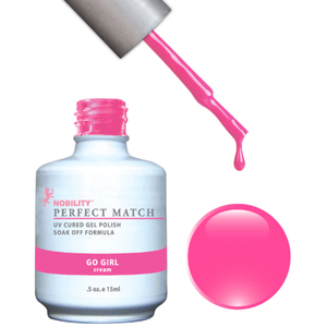 PERFECT MATCH - Soak Off Gel Polish + Lacquer - GO GIRL (PMS37)