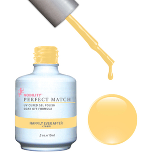 PERFECT MATCH - Soak Off Gel Polish + Lacquer - HAPPILY EVER AFTER (PMS53)