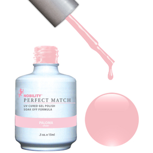 PERFECT MATCH - Soak Off Gel Polish + Lacquer - PALOMA (PMS15)