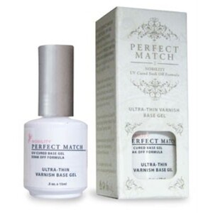 PERFECT MATCH - Ultra-Thin Varnish Base Gel 0.5oz (PMB02)