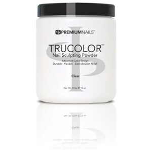 Premium Acrylic Powder - TruColor - CLEAR 16 oz. (CP400)