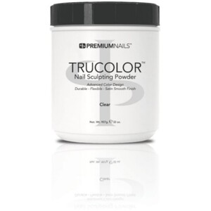 Premium Acrylic Powder - TruColor - CLEAR 32 oz. (CP800)