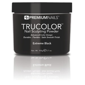 Premium Acrylic Powder - TruColor - EXTREME BLACK 3.7 oz. (XB085)
