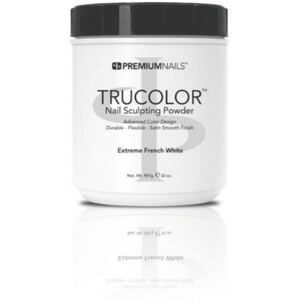 Premium Acrylic Powder - TruColor - EXTREME FRENCH WHITE 32 oz. (EFW800)