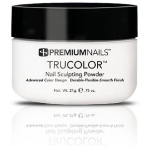 Premium Acrylic Powder - TruColor - EXTREME FRENCH WHITE 0.75 oz. (EFW015)