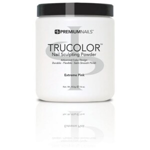 Premium Acrylic Powder - TruColor - EXTREME PINK 16 oz. (XP400)