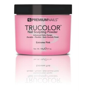 Premium Acrylic Powder - TruColor - EXTREME PINK 3.7 oz. (XP085)