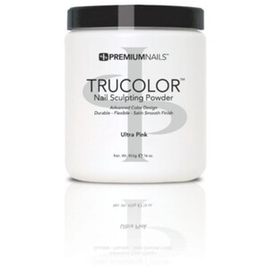 Premium Acrylic Powder - TruColor - ULTRA PINK 16 oz. (UP400)