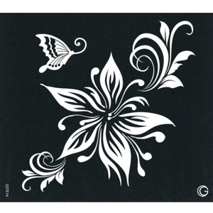 G Body Art - Essential Stencils - 2 Per Pack - Stargazer ()
