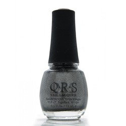 QRS Nail Lacquer - BLACK COAL 0.5 oz. - #439 (QRS439)