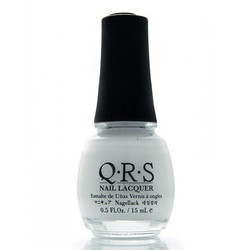 QRS Nail Lacquer - FRENCH WHITE 0.5 oz. - #100 (QRS100)