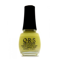 QRS Nail Lacquer - YELLOW MELLOW 0.5 oz. - #277 (QRS277)
