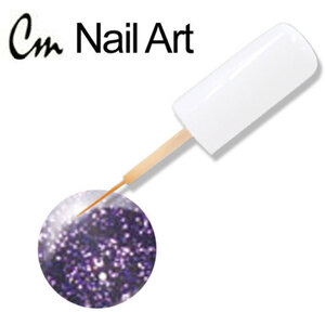 CM Nail Art - Purple Glitter 0.33 oz. (NA23)