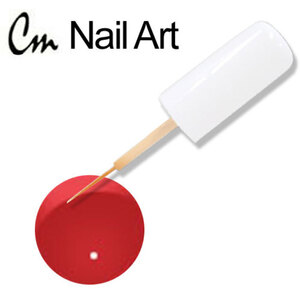CM Nail Art - Super Red 0.33 oz. (NA40)