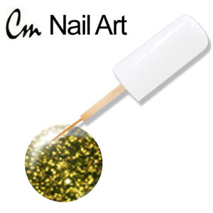 CM Nail Art - Gold Reflection 0.33 oz. (NA43)