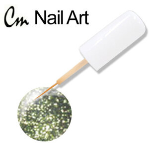 CM Nail Art - Lime Glitter 0.33 oz. (NA47)