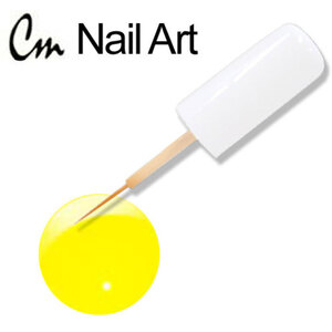 CM Nail Art - Electric Colors - Sonic Yellow 0.33 oz. (NAS02)