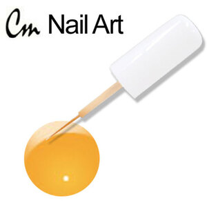 CM Nail Art - Electric Colors - Exotic Orange 0.33 oz. (NAS09)