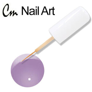 CM Nail Art - Electric Colors - Lavender Flower 0.33 oz. (NAS10)