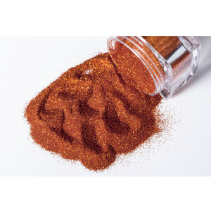 G Body Art - Classic Glitter - Fire Orange 0.3 oz. (GGB-FIREORANGEB)