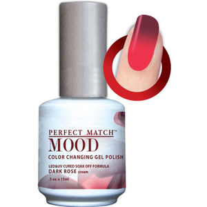 Mood Color Changing Soak Off Gel Polish - Dark Rose (MPMG34)