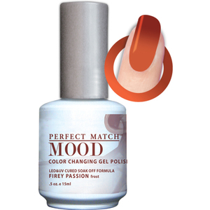 Mood Color Changing Soak Off Gel Polish - Firey Passion (MPMG28)